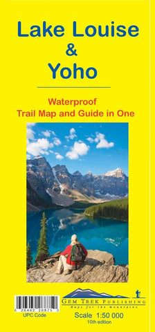 Lake Louise/Yoho Waterproof Map - Alpine Book Peddlers - Chateau Mountain Sports