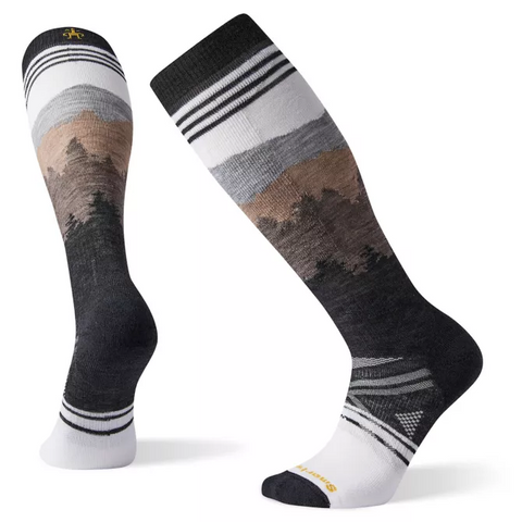 PhD Ski Medium Alpenglow Sock Men's