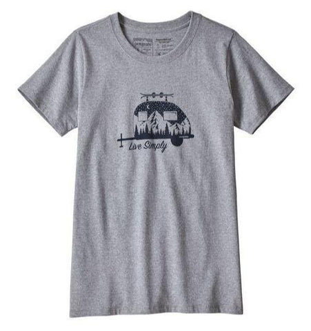 Live Simply® Trailer Responsibili-Tee® - Women's - Patagonia - Chateau Mountain Sports