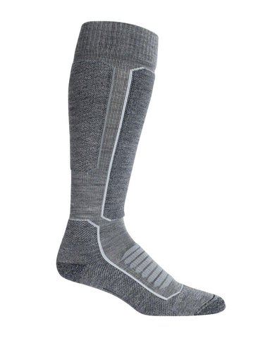 Ski+ Medium Over The Calf Merino Ski Socks Men's - Icebreaker - Chateau Mountain Sports