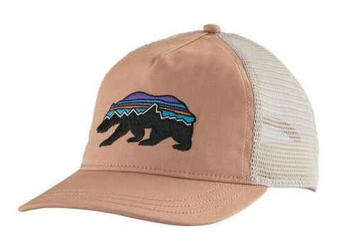 Fitz Roy Bear Layback Trucker Hat Women's - Patagonia - Chateau Mountain Sports