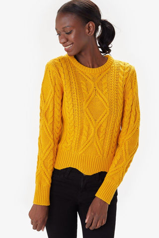 Zahara Crew Neck Sweater Women's
