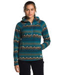 Printed Crescent Hooded Pullover Women's