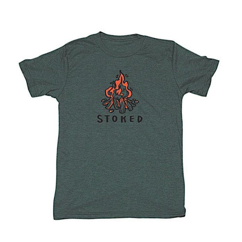 Stoked T Shirt Men's - Ambler - Chateau Mountain Sports