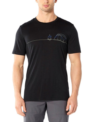 Tech Lite Short Sleeve Crew Tee Men's - Icebreaker - Chateau Mountain Sports