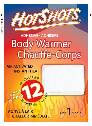 HotShots Adhesive Body Warmers (Pair) - David Astley - Chateau Mountain Sports