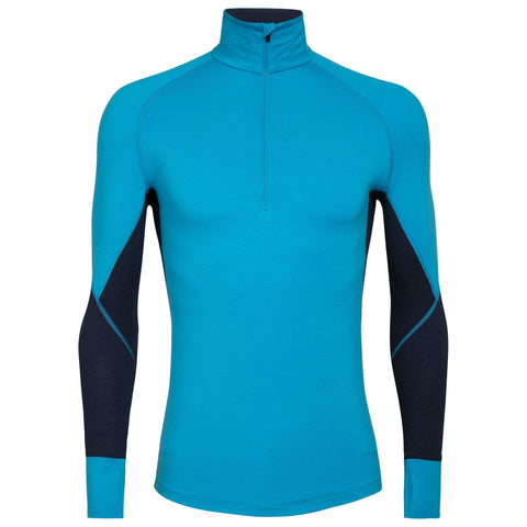 Zone 260 Long Sleeve Half Zip Merino Top Men's - Icebreaker - Chateau Mountain Sports