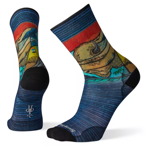 Curated Buffalangalo Crew Socks - Men's - Smartwool - Chateau Mountain Sports