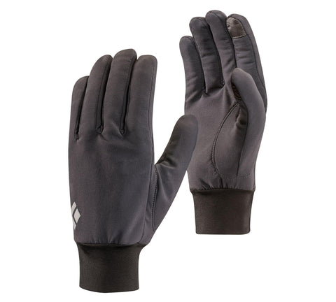Lightweight Softshell Glove Unisex - Black Diamond - Chateau Mountain Sports