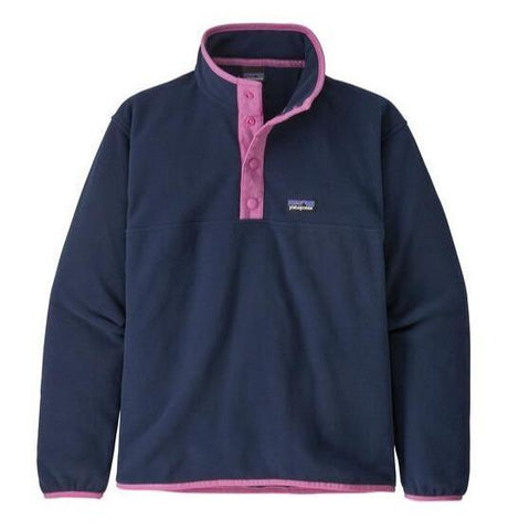 Micro D Snap-T Fleece Pullover Girls'