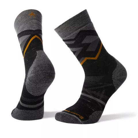 PhD® Outdoor Medium Pattern Hiking Crew Socks Men's