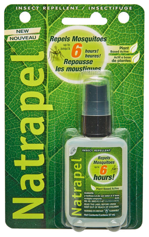 NATRAPEL® Lemon Eucalyptus Bug Spray 37ml - Adventure Ready Brands - Chateau Mountain Sports