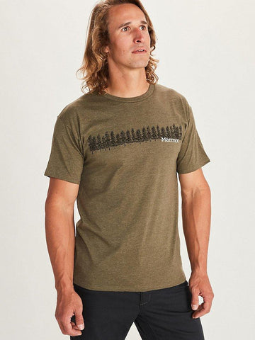 Forest Short Sleeve T Shirt - Men's - Marmot - Chateau Mountain Sports