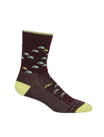 Hike Medium Crew Merino Socks Women's - Icebreaker - Chateau Mountain Sports