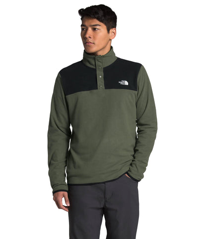 TKA Glacier Snap-Neck Pullover Men's - The North Face - Chateau Mountain Sports