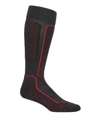 Ski+ Light Over The Calf Merino Ski Socks Men's - Icebreaker - Chateau Mountain Sports