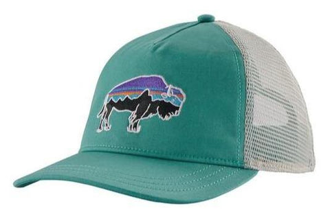 Fitz Roy Bison Trucker Hat Women's - Patagonia - Chateau Mountain Sports