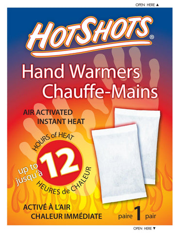 HotShots Hand Warmers (Pair) - David Astley - Chateau Mountain Sports