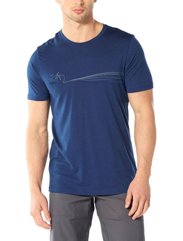 Tech Lite Short Sleeve Crew Men's - Icebreaker - Chateau Mountain Sports