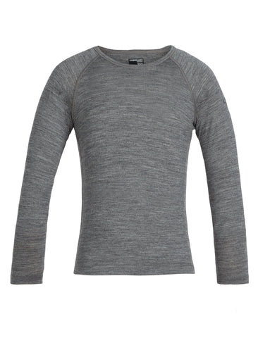 200 Oasis Long Sleeve Crew Kids' - Chateau Mountain Sports