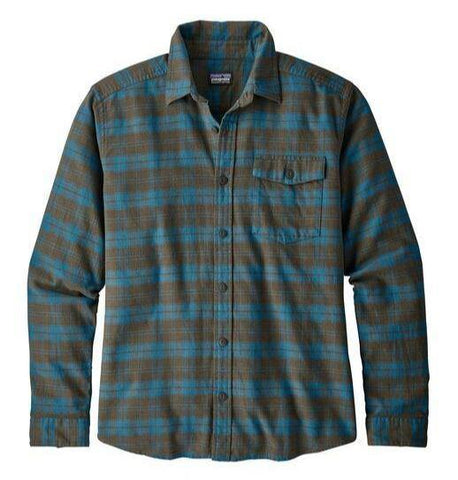 Lightweight Fjord Flannel Shirt Long Sleeved - Men's - Patagonia - Chateau Mountain Sports