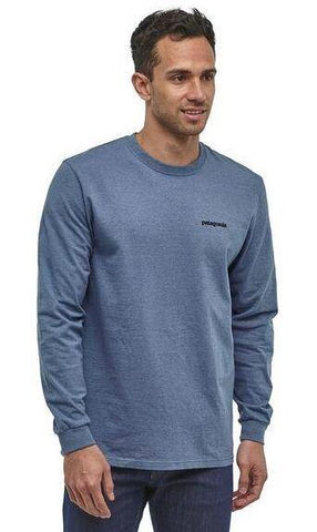 Fitz Roy Bison Long-Sleeved Responsibili-Tee® - Men's - Chateau Mountain Sports