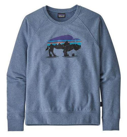 Fitz Roy Bison Ahnya Crew Sweatshirt - Women's - Patagonia - Chateau Mountain Sports