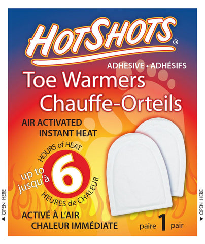 HotShots Toe Warmers (Pair) - David Astley - Chateau Mountain Sports