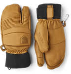 Leather Fall Line 3 Finger Glove Men's - Hestra - Chateau Mountain Sports