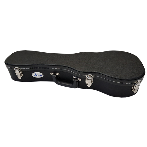 DCM BKW-T  Tenor Uke Wood Case Black