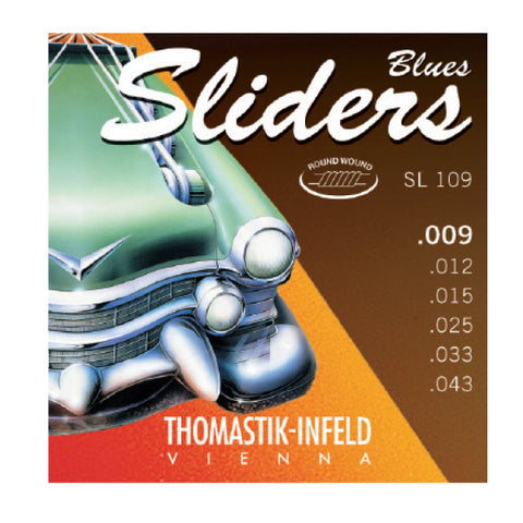 Thomastik SL109 Blues Sliders 9-43 String Set