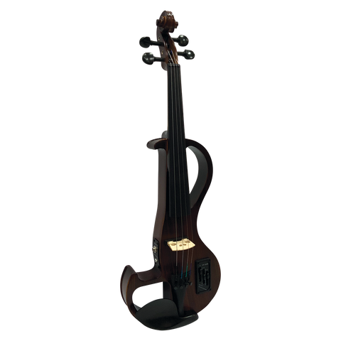 Hidersine HEV3 4/4 Zebrawood Electric Student Violin Outfit