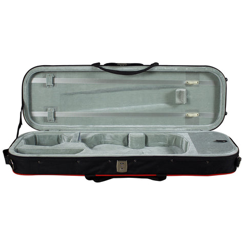 Hidersine HVC1C Lightweight Case to suit  Violin 1/2 or Viola 12""