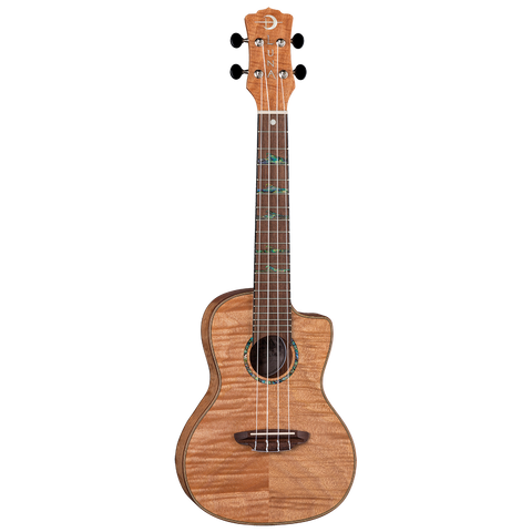 Luna UKEHTCEXM Uke High Tide Exotic Mahogany Concert with Gigbag