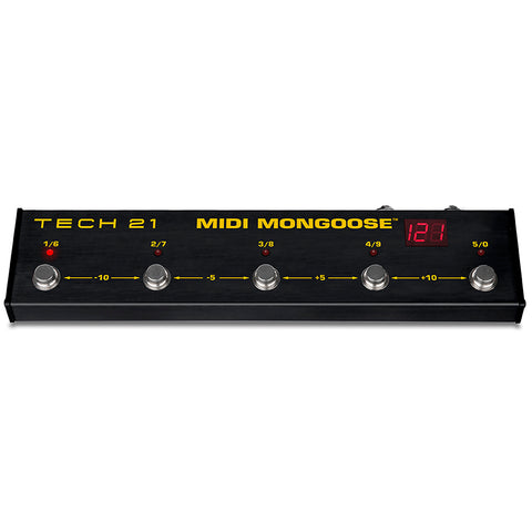 Tech 21 Midi Mongoose Foot Controller