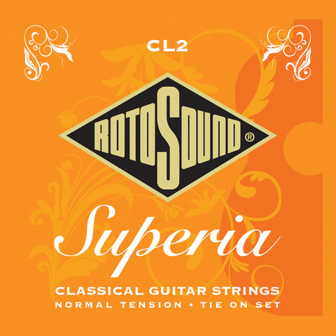 Rotosound CL2 Superia Classical Tie On Set