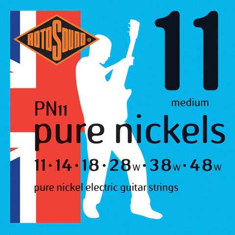 Rotosound PN11 Pure Nickels Electric String Set 11- 48