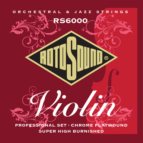 Rotosound RS6000 Violin Professional String Set