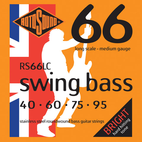 Rotosound RS66LC Swing Bass 66 Long Scale 40 - 95 Stainless