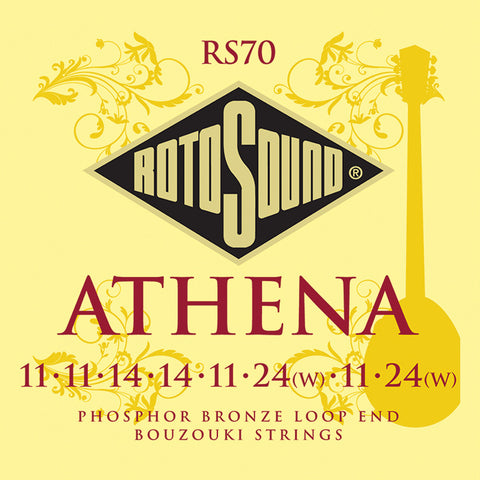 Rotosound RS70 Bouzouki Loop   End 8 String Phosphor Bronze