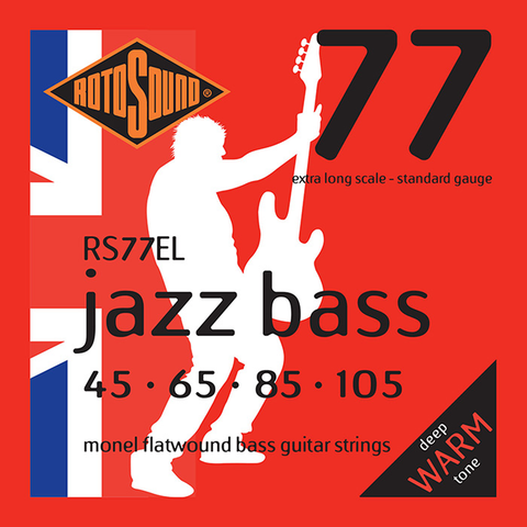 Rotosound RS77EL Jazz Bass 77 Extra Long Scale 45-105 Monel