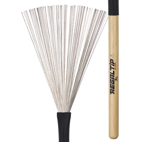 Regal Tip RTBR-551W-XL Hickory Handle Wire Bristle Brushes