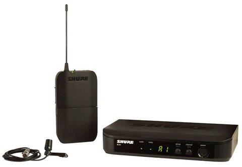 Shure BLX14/CVL Lavalier Wireless System - CVL Lavalier in the M17 Frequency Band (662-686MHz)