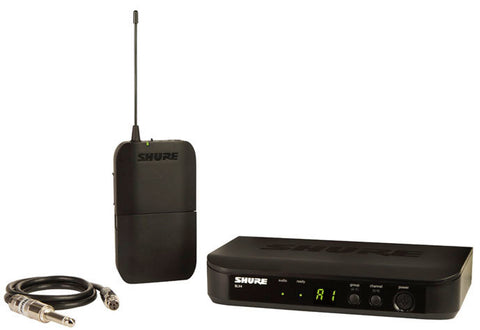 Shure BLX14 Guitar/Bass Bodypack Wireless System in the M17 Frequency Band (662-686MHz)
