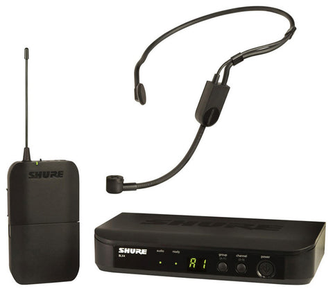 Shure BLX14/P31 Headworn Wireless System - PGA31 Headset in the M17 Frequency Band (662-686MHz)