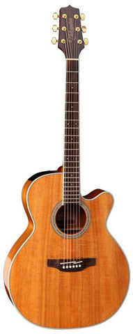 Takamine G70 Series NEX AC/EL Guitar with Cutaway in Natural Gloss Finish