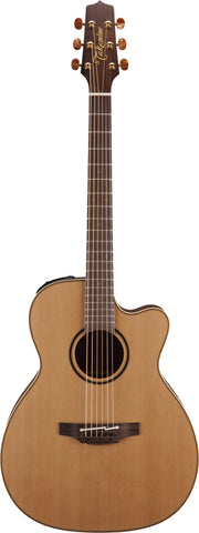 Takamine Pro Series 3 Orchestral AC/EL Guitar with Cutaway in Natural Satin Finish