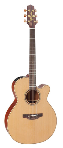 Takamine Pro Series 3 NEX AC/EL Guitar with Cutaway in Natural Satin Finish