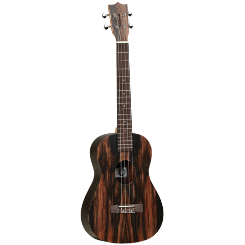 Tanglewood TWT20 Tiare Baritone  Ukulele All Figured Ebony with Bag