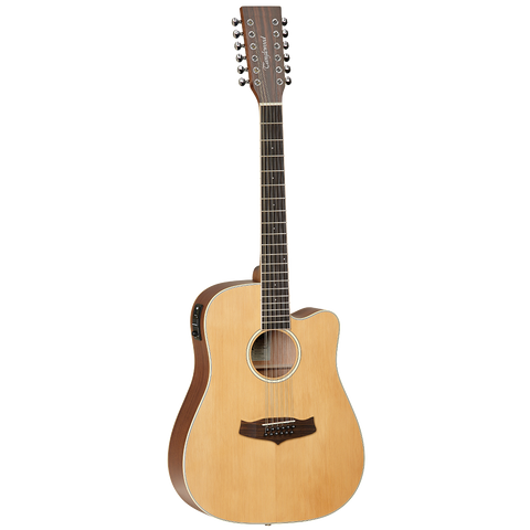 Tanglewood TW10-12 Winterleaf Dreadnought C/E 12 String